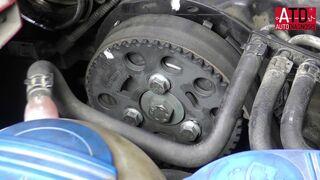 Cómo ajustar el sincronismo de inyección en motor inyector bomba TDi