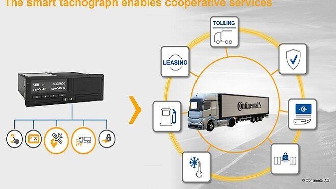 Continental trabaja en la segunda generación de tacógrafos inteligentes