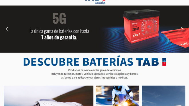 Tab Spain renueva su página web para acercarse al cliente