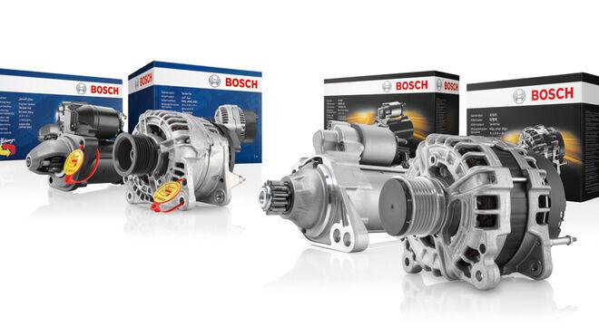 Bosch eXchange flexibiliza la devolución de cascos de motor de arranque y alternadores