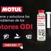 GDI Clean, el nuevo aditivo de Motul para el sistema de combustión
