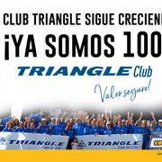 El Club Triangle alcanza al centenar de asociados
