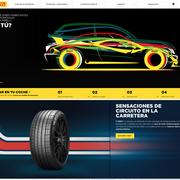 Pirelli renueva por completo su web en español