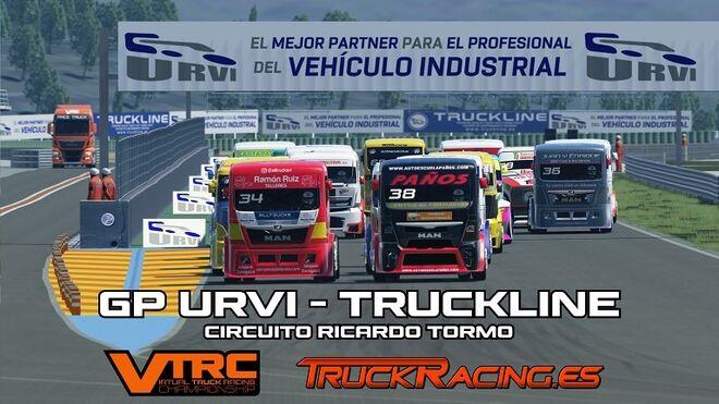URVI renueva su presencia en los Campeonatos GP de Camiones