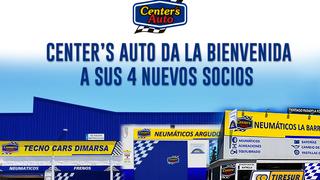 Center's Auto crece con cuatro nuevos talleres asociados