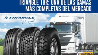 La gama Triangle TRB para camión distribuida por Tiresur, muy valorada por los talleres