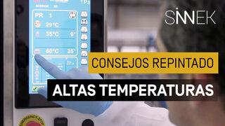 Consejos para el repintado de vehículos con altas temperaturas