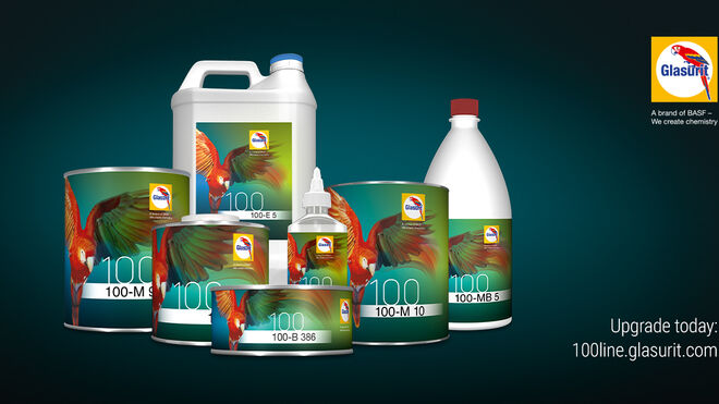 Glasurit se supera con la Serie 100