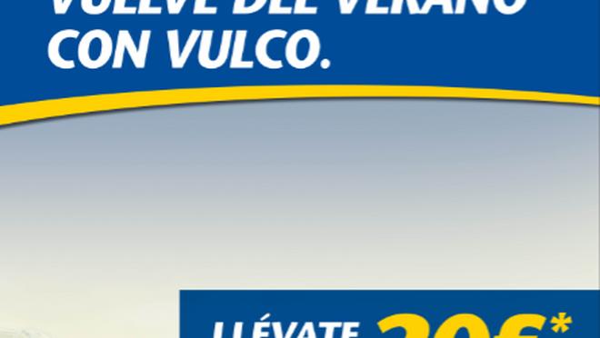 """La """"vuelta al cole"""" de Vulco: cheques regalo por la revisión del vehículo"""