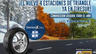 El nuevo neumático cuatro estaciones de Triangle, el SeasonX TA01, ya en Tiresur