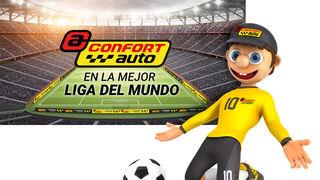 Confortauto vuelve a los estadios con la Liga de Fútbol