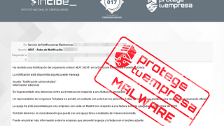 Alerta a los talleres ante emails que suplantan la identidad de la Agencia Tributaria