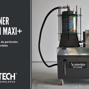 Oxyhtech lanza su nueva máquina de limpieza de filtros para vehículos industriales