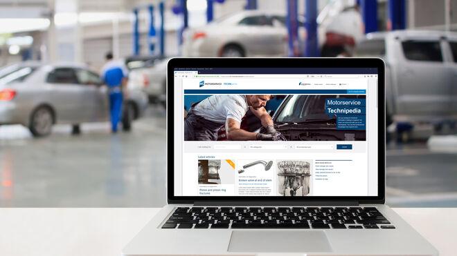 Motorservice alcanza las 100 publicaciones especializadas en su Technipedia