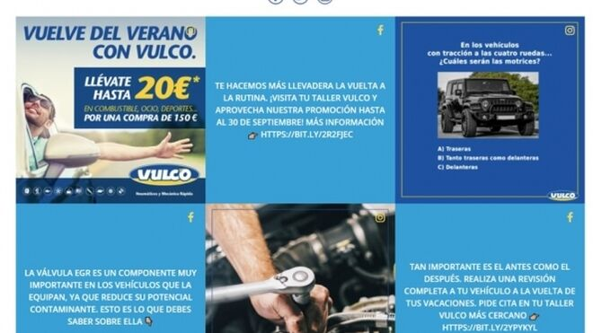 Vulco estrena página web con un diseño más intuitivo