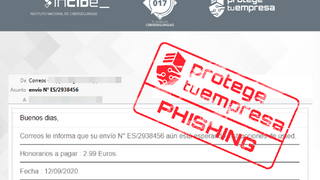 Alerta a talleres ante el fraude de ciberdelincuentes que suplantan a Correos