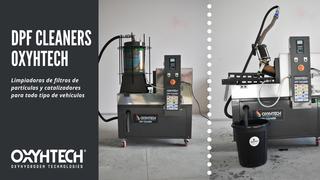 Oxyhtech ha sacado al mercado nuevas máquinas de limpieza de filtros