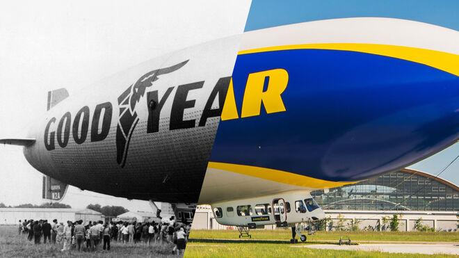 El blimp de Goodyear, en las 24 horas de Le Mans para conmemorar sus 100 años