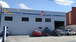 Recreación de la imagen del almacén de  DP Recambios del Automóvil 2020 en Bergondo (A Coruña)