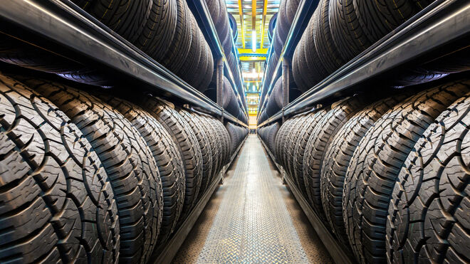 Estos son los ocho pasos en el reciclaje de los neumáticos usados