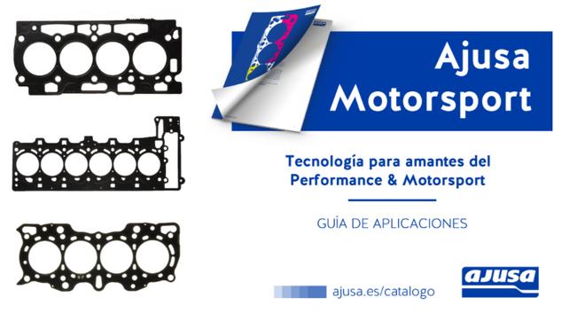 Ajusa Motorsport, la nueva línea de juntas de culata para motores de alto rendimiento