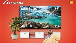 First Stop regala televisores Samsung 4K a sus clientes