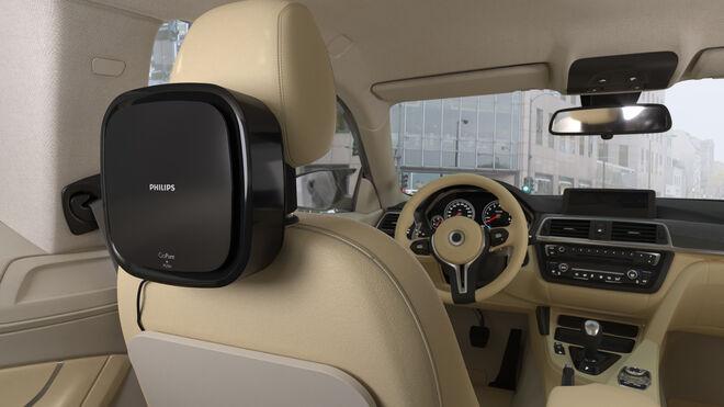 El purificador de aire Philips Go Pure, la elección del taxi de Madrid