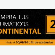Rodi descuenta el 25% en la compra del segundo neumático Continental SportContactact 5