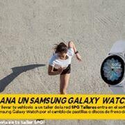 SPG sortea dos smartwatches por el cambio de pastillas o discos de freno