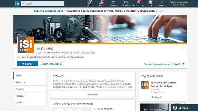 LinkedIn para recambistas: cómo administrar una página profesional
