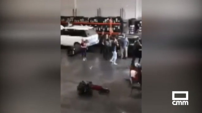 Una pelea en un taller de Sonseca (Toledo) se salda con un agente herido