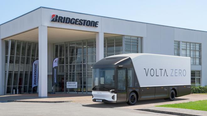 Bridgestone equipa el primer camión eléctrico de Volta Trucks