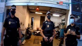 La Policía Local detiene a dos personas en un taller de Málaga por tráfico de drogas