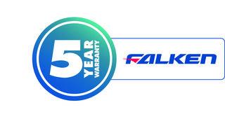 Falken ofrece una garantía de cinco años en todos sus neumáticos