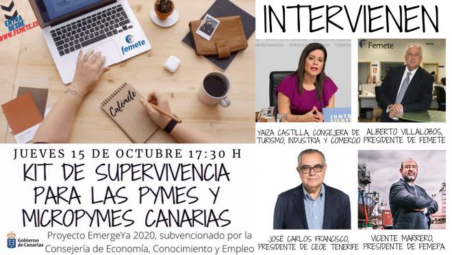 """""""EmergeYa 2020"""", el proyecto de Femete que lucha contra los talleres ilegales en Canarias"""