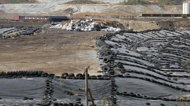 Los NFU mejoran la gestión de residuos sólidos urbanos e industriales en los vertederos