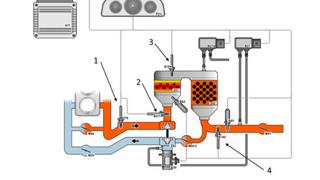 Paso a paso para comprobar los sensores de temperatura de los gases de escape de un VW Passat