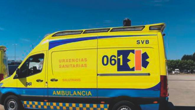 Herido un mecánico tras caer al foso de un taller en La Coruña