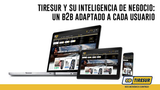 Tiresur avanza el desarrollo de su plataforma B2B para adaptarse a cada cliente