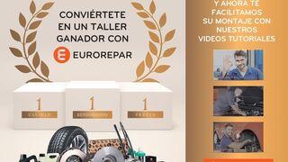 Eurorepar amplía su catálogo con 160 nuevas referencias de pastillas y discos de frenos