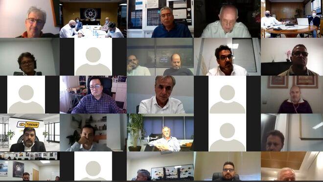 Adine renueva su Junta Directiva en una asamblea virtual con 60 asociados