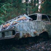 La Xunta de Galicia denuncia el abandono de casi 9.000 coches en el monte en ocho años