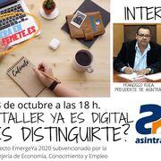 Asintra y Femete organizan un webinar sobre el acceso a nuevas herramientas digitales