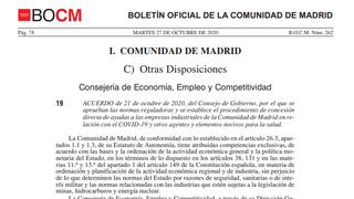 Los talleres de Madrid podrán recibir ayudas para invertir en medidas antiCovid