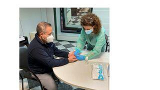 Repuestos Lisboa realiza test serológicos a su plantilla cada 15 días