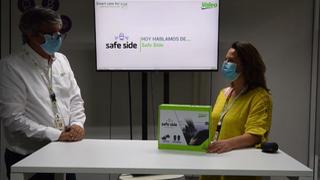 Valeo muestra el funcionamiento del Safe Side, su detector de ángulo muerto