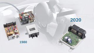 Las unidades de control del airbag de Bosch celebran sus 40 años en el mercado