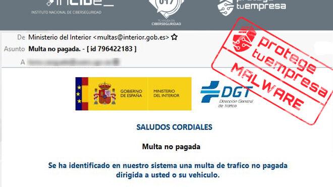 Nuevo intento de estafa a los talleres al suplantar a la DGT con motivo de una multa