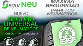 Nex lanza Segur Neu, su seguro universal de neumáticos