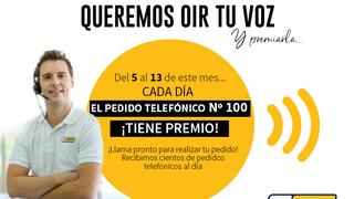 """""""Queremos oír tu voz"""", la nueva campaña de Tiresur que premia cada día al pedido número 100"""